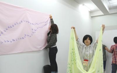 総合領域2年生企画「share+art」展