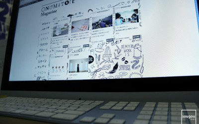 「ONOMATOPE magazine」 open!