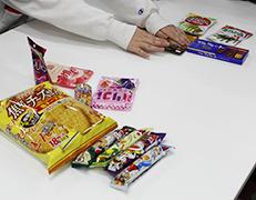お菓子会議 シャリシャリ&ペタペタ